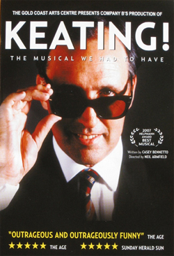 Keating! Theatre Poster