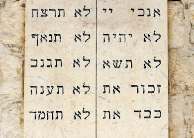 The Annotated Ten Commandments